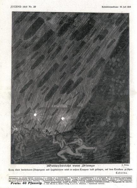 Wetterbericht vom Isonzo
