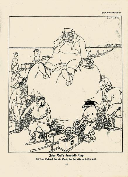 John Bull's finanzielle Lage