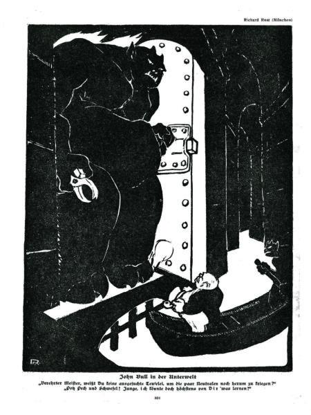 John Bull in der Unterwelt