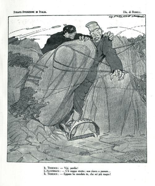 Strafe-Spedizione in Italia