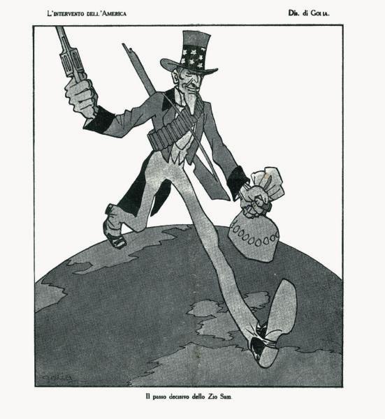 L'intervento dell'America