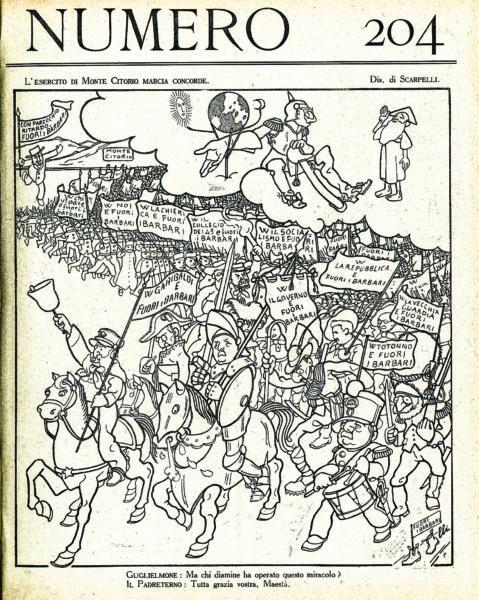 L'esercito di Monte Citorio marcia concorde